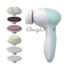 7 in 1 Electric Foot Face Smoother Feet Massager Callus Remover Clean Brush Kit