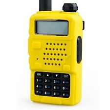 Handheld Case Cover Holster for BAOFENG UV5R UV-5RA UV-5RB yellow x 2