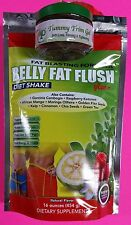NATURAL BELLY FAT FLUSH DIET WEIGHT LOSS SHAKE & BELLY FAT TRIM GEL- COMBO PACK
