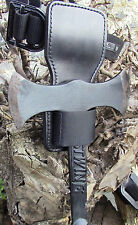 Axe Sheath - Knife Holder Leather Adjustable Holster Frog Hammer Tools
