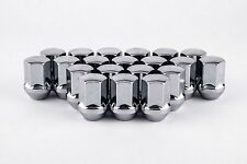 "Set 20 14mm x 1.5 Chrome Large Seat Lug Nuts 7/8"" Solid Hex W1014LS Dodge 300"