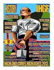 Highland Games Highlights 2013 by Francis Brebner (2014, Paperback, Large Type)