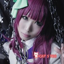 Angel Beats! Nakamura Yuri Rose Purple cosplay wig