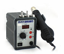 100% Brand New Soldering Hot Air Gun Quick 858D - SMD Rework Soldering Station