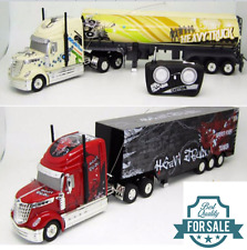 Remote Radio Control RC 6CH 1:32 Scale American Heavy Truck Semi Trailer RC RTR
