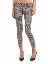 GUESS by Marciano The Cropped Skinny Jean No. 61- soft pink Leopard size 23