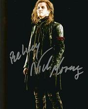 Hand Signed 8x10 colour photo NICK MORAN in HARRY POTTER + COA