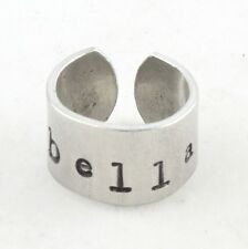Custom Personalized Ring for Girl - Child Ring Band - Handstamped Gift