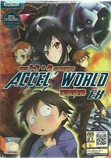 DVD Accel World ( OVA 1 - 2 + 8 Specials ) English SUB + Free Shipping (A09)