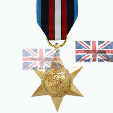 Official ARCTIC STAR Full Size Medal and Ribbon (first to get them !! WW2 Medal
