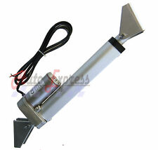 """Water Resistant 8"""" Linear Actuator w/ Brackets Stroke 200 Pound Max Lift 12V DC"""