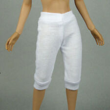 1/6 Scale Phicen, Hot Toys, ZC, Cy Girl, Kumik Female Clothes White Sweat Pants
