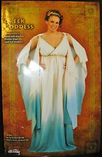 Greek Goddess Costume Dress with Leaf Headband Adult Size 16W-24W Plus New #X282