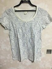 UNIQLO Orla Kiely Cute Print Cotton Top T Shirt Japanese M size Great Condition