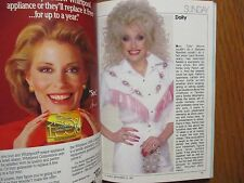 1987 TV Guide(FALL PREVIEW/DOLLY/BEAUTY AND THE BEAST/FULL HOUSE/FRANK'S  PLACE)