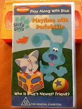 BLUES CLUES - PLAYTIME WITH PERIWINKLE - VHS