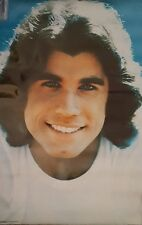 VINTAGE JOHN TRAVOLTA 1977 PRO ARTS POSTER • NEW NEVER HUNG OLD STORE STK •