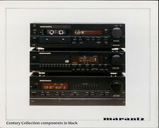 Marantz Century Collection Black Components Sound System Glossy 8x10 Kodak Photo