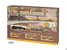 N Scale DURANGO & SILVERTON Complete Passenger Train Set BACHMANN New 24020