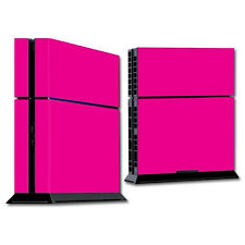 Skin Decal Wrap for Sony PlayStation 4 PS4 Console sticker Glossy Hot Pink