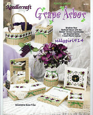 """""""GRAPE ARBOR""""~Plastic Canvas PATTERN BOOK ONLY~10 Piece Set~SEE PICTURES"""