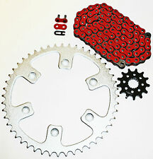 1992-1993, 1996-2001 HONDA CR250R 250 R RED CHAIN AND SPROCKET 13/50 114L