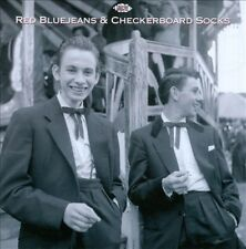 Red Blue Jeans & Checkerboard Socks New CD