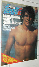 FRANCE FOOT 2 09/05 1980 MARADONA PECOUT NANTES GEMMRICH WEST HAM BILLY BONDS