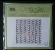 Stampin Up Cable Knit Dynamic 6x6 Embossing Folder (New & Sealed)