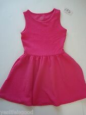 Childrens Place Size 5-6 little girls pink  dress NWT