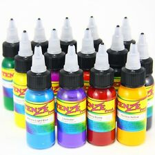 Intenze Prod Ink Profi Tattoofarben 14x 30 ml Tattoo Farben Set Tätowierfarben