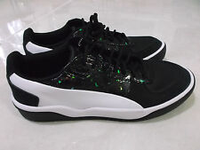 NEW ALEXANDER MQUEEN PUMA LEATHER  MEN'S ATHLETIC SHOES SIZE 10  BLACK