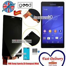 For Sony Xperia Z3 Mini Compact D5803 Black LCD Display Touch Screen Digitizer