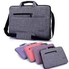 "Oxford Nylon 15""15.6"" Laptop Shoulder Bag Handle Pouch Cover Case For Dell Acer"
