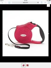 BLING JUICY COUTURE LIMITED EDITION HOT PINK DOG CAT LEASH 9.6' 25lbs CHIHUAHUA