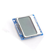 84x48 Nokia LCD Module Blue Backlight Adapter PCB Nokia 5110 LCD For Arduino NEW
