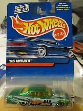 Hot Wheels '65 Impala Hotwheels.com Green