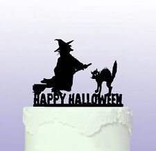 Witch Cake Topper that can be personalised - Halloween