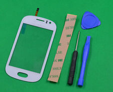 For Samsung Galaxy FAME S6810 White Touch Screen Digitizer Glass Parts