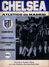 1979/80 Chelsea v Atletico Madrid, friendly, PERFECT CONDITION