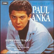 PAUL ANKA - THE MOST OF CD ~ DIANA~LONELY BOY ~ 60's GREATEST HITS~BEST OF *NEW*