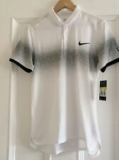 Nike Tennis Roger Federer Polo Shirt Size Small