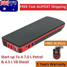 18000 mAh 12V Portable Car Jump Starter Battery Booster Pack Power Bank 600CCA