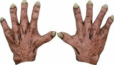 Monster Latex Hands Flesh Scary Creepy Costume Accessory Adult Gloves 25356