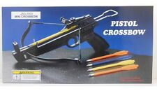50lb CROSSBOW PISTOL + ARROWS Bolts Archery Hunting Target Top Quality USA Free