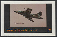 GB Locals - Bernera 2809 - 1982 AIRCRAFT - BUCCANEER £2 deluxe sheet  u/m