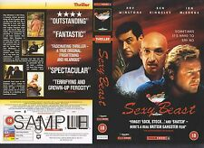 Sexy Beast, Ben Kingsley Video Promo Sample Sleeve/Cover #9632