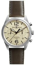 BR-126-ORIGINAL-BEIGE | BELL & ROSS VINTAGE | BRAND NEW & AUTHENTIC MENS WATCH