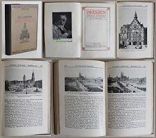 Schumann: Celebre Siti d'arte Banda 46. Dresda 1909 -con 185 Immagini -xz