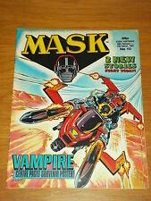 MASK #10 28TH FEBRUARY - 13TH MARCH 1987 IPC BRITISH MAGAZINE